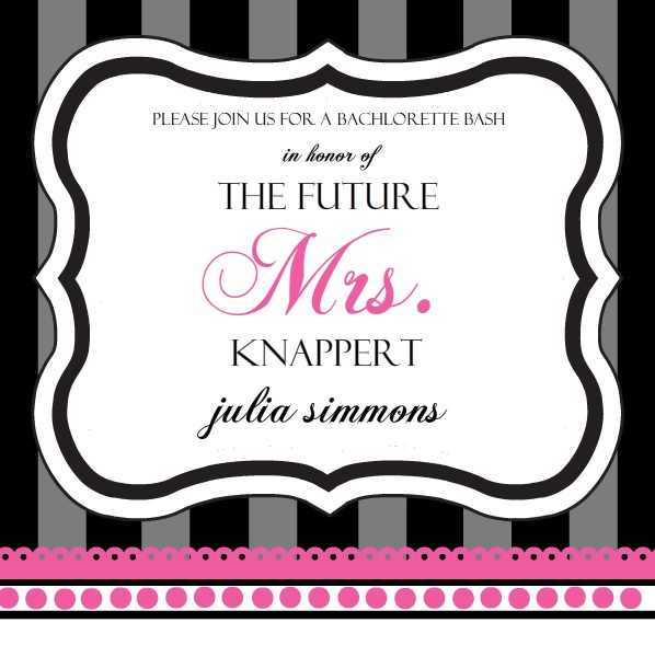 Invitations For The Bachelorette Party – Bachelorette Party Invites Templates