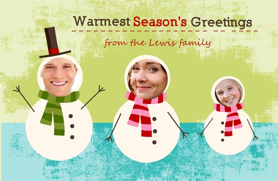 cut out christmas cards from purpletrail snowmen elves and more