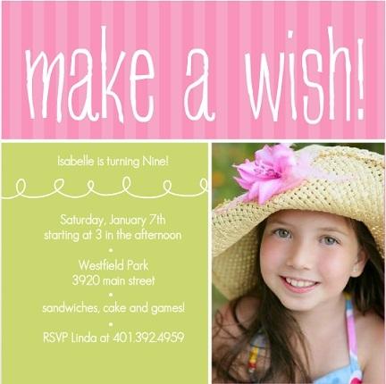 Kids Birthday Invitations Custom from PurpleTrail – Kids Birthday Invites