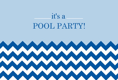 Kids Pool Party Ideas From PurpleTrail – Pool Party Invite