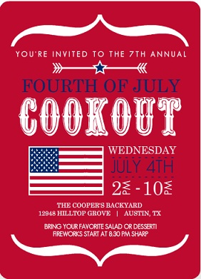 Summer Party Ideas from Purple Trail 4th of July Labor Day
