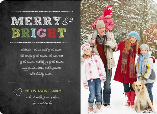 Holiday Photo Cards - Trends for 2012 by PurpleTrail