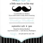 A Moustache Baby Boy Shower