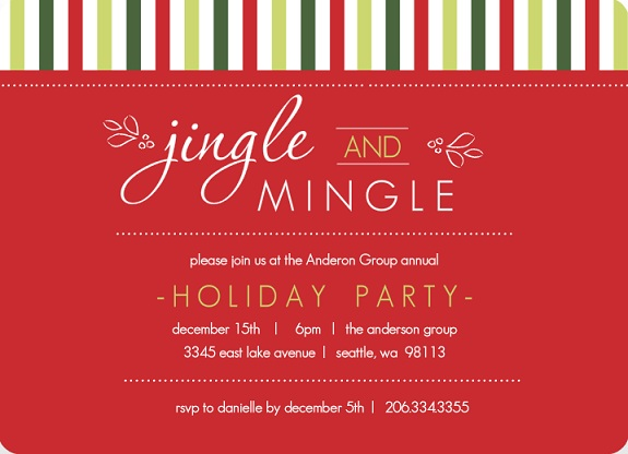 business holiday party invites - purpletrail blog, Party invitations